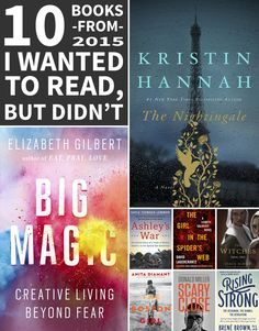 So many great books were published in 2015, but there's never enough time to read them all!