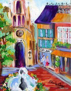 Bronzo Italy Street - by Elaine Cory