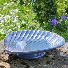 Beachcomber Bird Bath in Ceramic Metal Bird Bath, Ceramic Bird Bath, Bird Bath Bowl, Hanging Bird Bath, Glass Bird Bath, Metal Birds, Ceramic Birds, Glass Birds, Glazed Ceramic