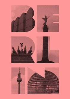 berlin #poster by Mihalis Arkopoulos #graphicdesign