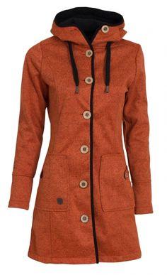 Woolshell Ladies´ Button Orange
