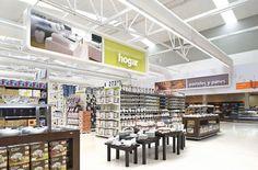 Supermarket Design | Hypermarket Design | Retail Design | Shop Interiors | Chedraui hypermarket
