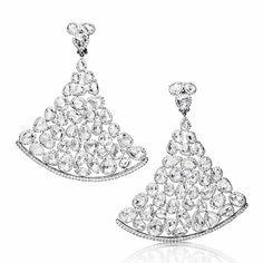 Boucles d'oreilles diamants De Grisogono 20 ans