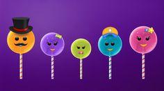The Finger Family Lollipop Family Nursery Rhyme   Lollipop Finger Family...