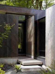 Case Inlet Retreat - modern - entry - seattle - MW|Works Architecture+Design