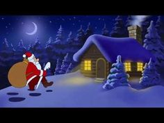 Christmas and New Year with cartoon Santa Claus - YouTube