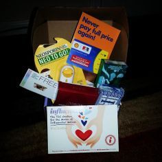 I received my TLCVoxBox from Influenster complementary for testing purposes in the mail. It is especially for Moms! Included was the following:  1.) SHELL FUEL REWARDS CARD 2.) BREYER'S GELATO INDULGENCES  3.) PUFFS TO GO 4.) NEOSPORIN NEO TO GO 5.) IVORY BAR SOAP  6.) AVON ANEW REVERSALIST EXPRESS WRINKLE SMOOTHER I AM SO EXCITED TO TRY ALL THE PRODUCTS AND LEAVE FEEDBACK ON THEM. THANK YOU SO MUCH INFLUENSTER! YOU GUYS NEVER DISAPPOINT :)