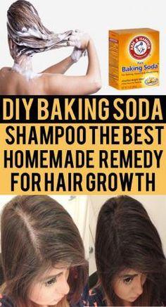 DIY Baking Soda Shampoo: The Best Homemade Remedy for Hair Growth. As we alread. - DIY Baking Soda Shampoo: The Best Homemade Remedy for Hair Growth. As we already know that, baking - Baking Soda For Skin, Baking Soda Shampoo, Baking Soda Uses, Baking Soda Hair Growth, Baking Soda For Dandruff, Baking Soda Vinegar, Shampooing Diy, Diy Hair Loss Shampoo, Hair And Beauty