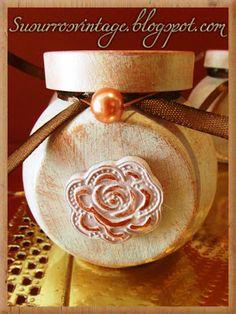 Tarrito con detalle flor
