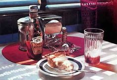 Ralph Goings Paintings - Photo Realism  Heart Be Still.  Still Life