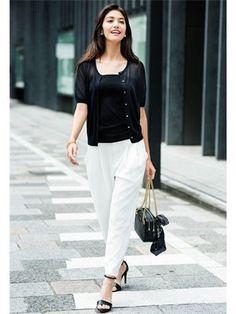 キレイめ派にお勧め!夏に穿きたい白パンツのコーデ術 - Yahoo! BEAUTY