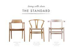 五割一分が選ぶ名作椅子3脚「スタンダードチェア」展、開催中