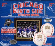 2017 Tristar Autographed Baseball Chicago North Side Box
