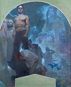 「ミュシャ展」17年春に国立新美術館で開催 - 晩年の巨大傑作《スラブ叙事詩》が世界初公開 写真13