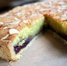 Bakewell Tart slice