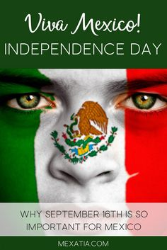 Mexican Independence Day, of September, it is a major celebration in Mexico. Being grateful for their nation, everything in the country becomes green, white and red. Mexican Independence Day, Flag Face, Knights Templar, Mexico Travel, Joker, Artwork, Fictional Characters, Grateful, Celebration