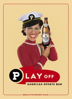 Play off - Sports bar - corporate and interior design  by Burkhard Neie