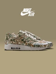 Nike Air Max 1 Camo. #wants #crave