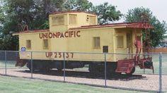 Union Pacific Caboose -- Victoria, KS