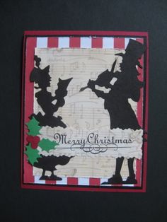 F4A335, Carolers (outside) by jdmommy - Cards and Paper Crafts at Splitcoaststampers