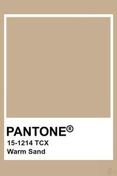 Pantone Tcx, Pantone Swatches, Pantone 2020, Color Swatches, Beige Color Palette, Colour Pallete, Colour Schemes, Color Trends, Beige Colour
