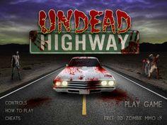 Trata de huir de los zombies y mátalos si vienen hacia tí!  http://mundobanana.com/Undead-highway-10004281.html