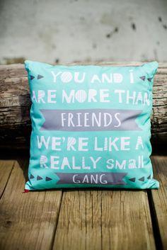 Really Small Gang Pillow Cover #nada