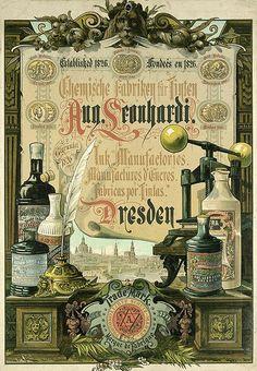 Ink Manufactories,  c.1883  Dresden