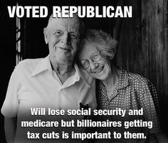 PEOPLE NEED TO WAKE UP AND REALIZE THEY ARE BEING ROBBED BY THE REPUBLICANS
