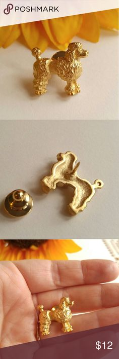 Selling this Vtg Avon poodle pin gold tone on Poshmark! My username is: oldsewlvintage. #shopmycloset #poshmark #fashion #shopping #style #forsale #Vintage #Jewelry