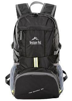 Outdoor Folding Backpack Hiking Waterproof Camping Ultralight Storage Bag //KT