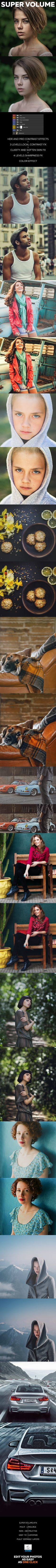 Super Volume - Photoshop Action #photoeffect Download: http://graphicriver.net/item/super-volume-photoshop-action/12642948?ref=ksioks