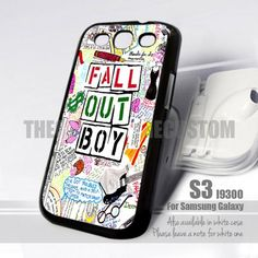 Pierce The Veil Song Lyric Design for Samsung Galaxy fit 9300 Pierce The Veil, Samsung Galaxy S3, Fall Out Boy, Music Is Life, Song Lyrics, Phone Cases, Songs, Band, Accessories