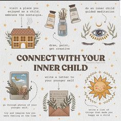 Inner Child Healing, Herbal Magic, Baby Witch, Self Care Activities, Kids Writing, Letter Writing, Self Improvement Tips, Guided Meditation, Book Of Shadows