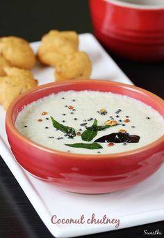 "coconut chutney recipe – Sharing a simple South Indian chutney recipe for beginners. The word ""CHUTNEY"" is derived from an Indian term ""CHATNI"" meaning crushed. In the earlier days, to make a chutney, ingredients were usually crushed to a coarse texture using a stone mortar and a hand pestle. Due to the slow crushing, the …"