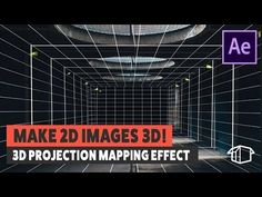 2D to 3D Projection mapping Tutorial for Adobe After Effects - YouTube