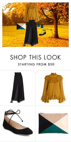 """""""Relaxed"""" by shirley-de-gannes ❤ liked on Polyvore featuring Alex Evenings, Chloé, Karl Lagerfeld, Sole Society and CARAT* London"""