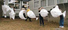 New Mills festival lantern workshop Paper Lantern Lights, Paper Lanterns, Retro Light Bulbs, Paper Fish, Painting Lamp Shades, Paper Mache Clay, Lantern Designs, How To Make Lanterns, Chinese Lanterns
