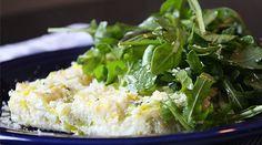 Egg-White Frittata with Leeks