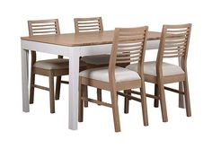 Sale now on. Dixon Small Extending Dining Table with 4 Oak Chairs