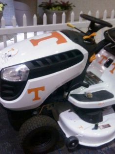 Now that's a mower
