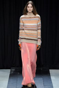 модный трикотаж 2014-2015,Veronique Branquinho