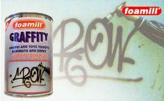 foamill-Καθαριστικό για τοίχους και επιφάνειες από βαψίματα και γκράφιτι-GEL Coffee Cans, How To Remove, Cleaning, Drinks, Drinking, Beverages, Drink, Home Cleaning, Beverage