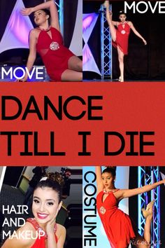 Here is Kalani's solo, Dance Till I die