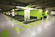 Orly - Parking souterrain aéroport - Aéroport de Paris - JF. Chapuis