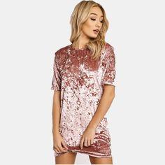 Velvet Casual Dress – The Variety Club