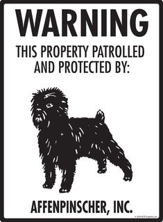 "12/"" x 3/"" Beware of Papillon Aluminum Dog Sign and Sticker Warning"