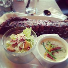 Photo by seancee69 - Original joes beauty dinner! #ojsmenu #dinner #goodfood #ribs #protein #soup #salad