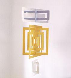 mod mobile from Modern Paper Crafts by Margaret Van Sicklen