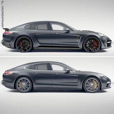 Sketch Porsche Panamera 2017